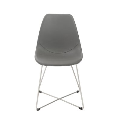 Cherry Hill Side Chair Upholstery: Polyurethane - Gray