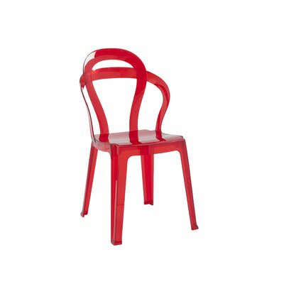 Sayreville Side Chair Finish: Transparent Red