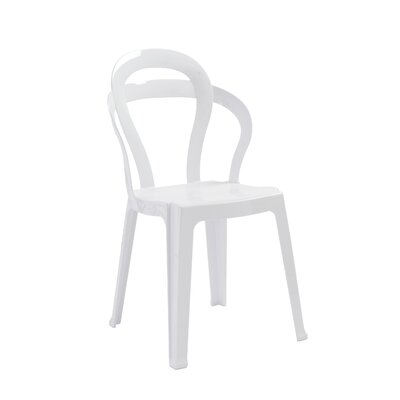 Sayreville Side Chair Finish: Glossy White