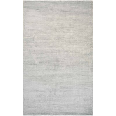 Alyson Hand-Loomed Pearl Area Rug Rug Size: Rectangle 53 x 76
