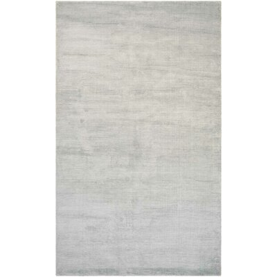 Alyson Hand-Loomed Pearl Area Rug Rug Size: Rectangle 710 x 1010