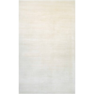 Alyson Hand-Loomed Champagne Area Rug Rug Size: Rectangle 2 x 4