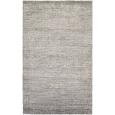 Alyson Hand-Loomed Fawn Area Rug Rug Size: Rectangle 35 x 55