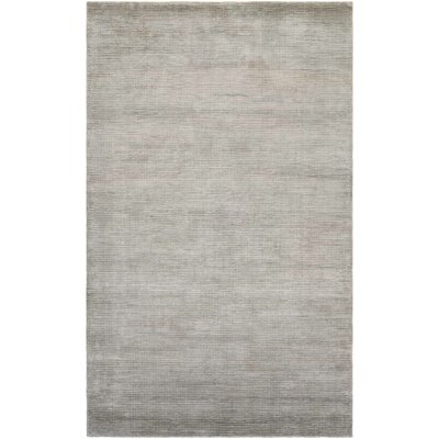 Alyson Hand-Loomed Fawn Area Rug Rug Size: Rectangle 710 x 1010