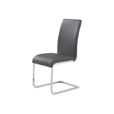 Ramsey Side Chair Upholstery: Grey