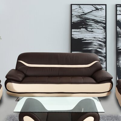 Phillipsburg Sofa Upholstery: Brown / Beige