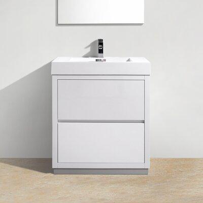 Tenafly 30 Single Free Standing Modern Bathroom Vanity Set