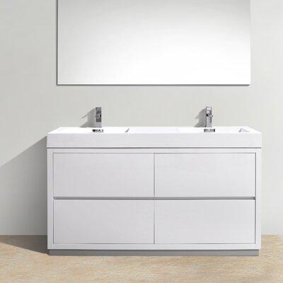 Tenafly 60 Double Bathroom Vanity Set