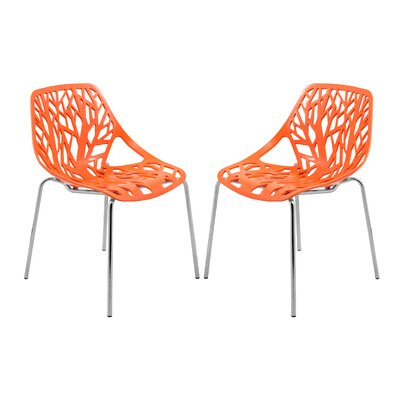 Eatontown Side Chair Finish: Orange