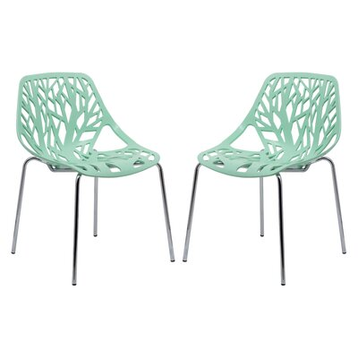 Eatontown Side Chair Finish: Mint