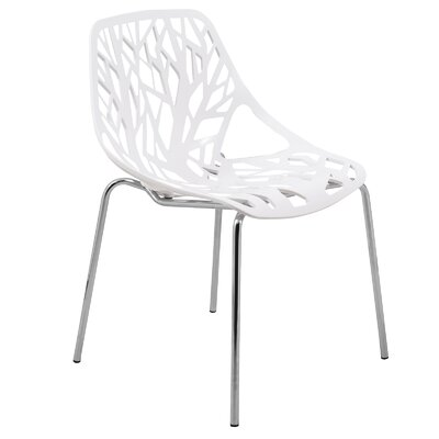 Eatontown Dining Chair Color: White