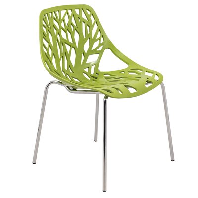 Eatontown Side Chair Finish: Green
