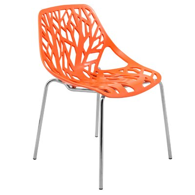 Eatontown Dining Chair Color: Orange