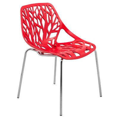 Eatontown Side Chair Finish: Red