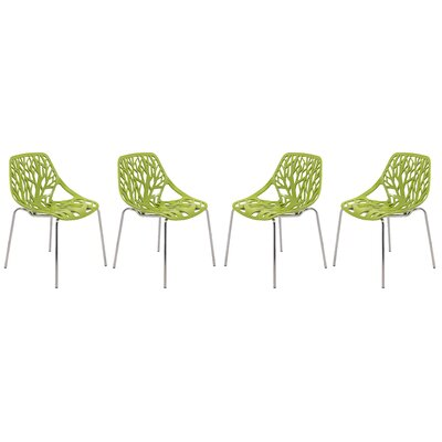 Eatontown Dining Chair Color: Green