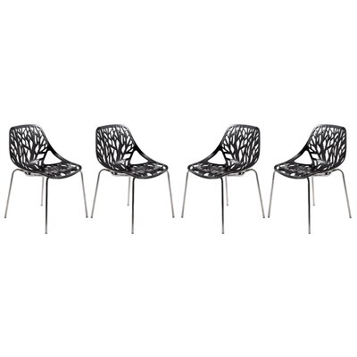 Eatontown Dining Chair Color: Black