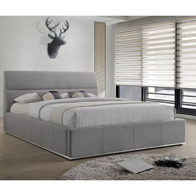 Ballou Upholstered Platform Bed Size: King