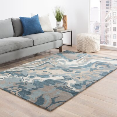 Valentino Hand-Tufted Area Rug Rug Size: Rectangle 5 x 8
