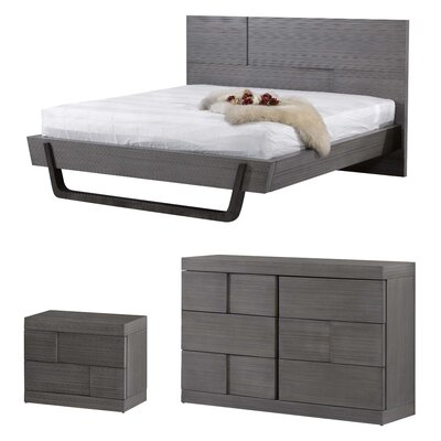 Yusuf Platform Customizable Bedroom Set