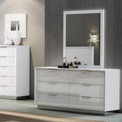 Melbourne 6 Drawer Double Dresser