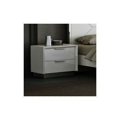 Aspinwall 2 Drawer Nightstand