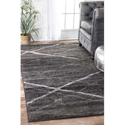 Mcphee Gray Area Rug Rug Size: Rectangle 3 x 5