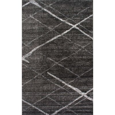 Herring Gray Area Rug Rug Size: Rectangle 86 x 116