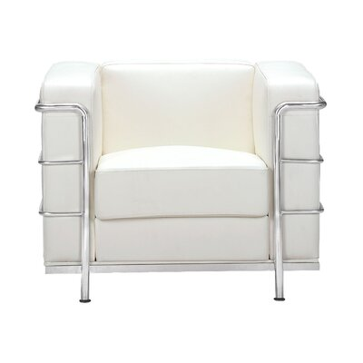 Frye Armchair Upholstery: White