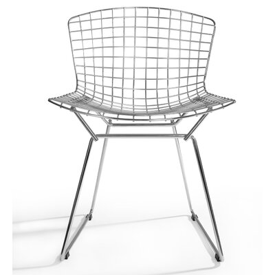 Ellie Dining Chair Finish: Stainless Steel