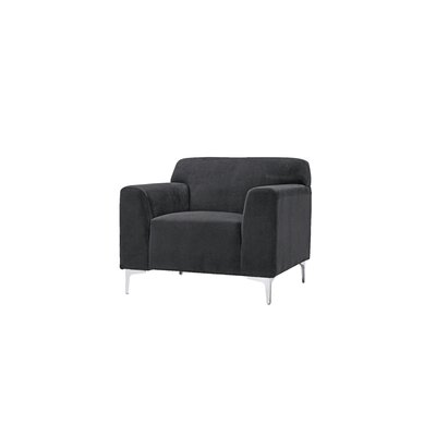 Trystan Arm Chair Upholstery: Black