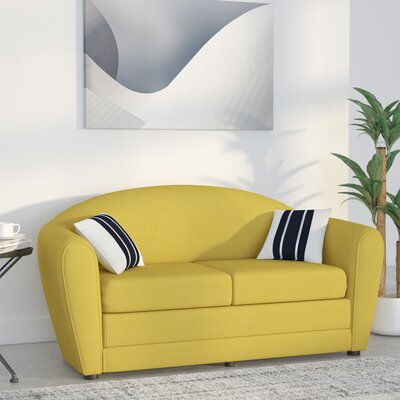 Wurley Sleeper Loveseat Color: Taylor Golden