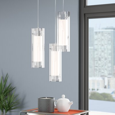 Fennia 3-Light Foyer Pendant Finish: Polished Chrome