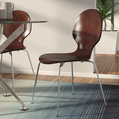 Bentwood Round Chair Side Chair Finish: Espresso