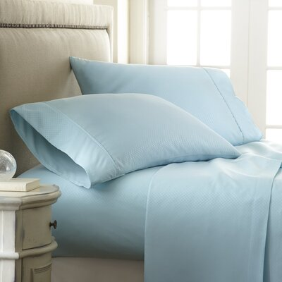Aspen Sheet Set Size: King, Color: Aqua