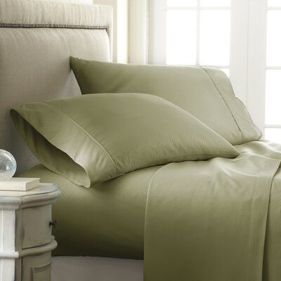 Aspen Sheet Set Size: King, Color: Sage