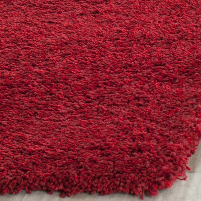 Rowen Red Area Rug Rug Size: 3 x 5