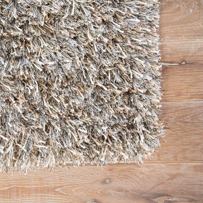 Burnell Bleached Linen/Light Beige Area Rug Rug Size: Rectangle 5 x 8