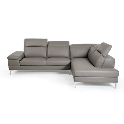 Alsatia Sectional Upholstery: Grey