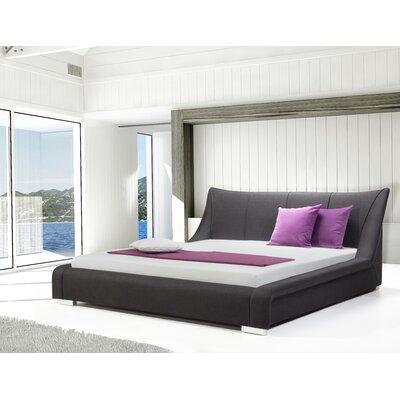 Astoria Upholstered Platform Bed Size: King, Finish: Anthracite