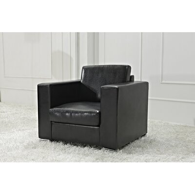 Attwood Armchair Upholstery: Black