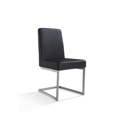 Artman Side Chair (Set of 2) Color: Black