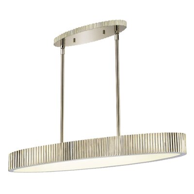 Darla 6-Light Oval Drum Pendant