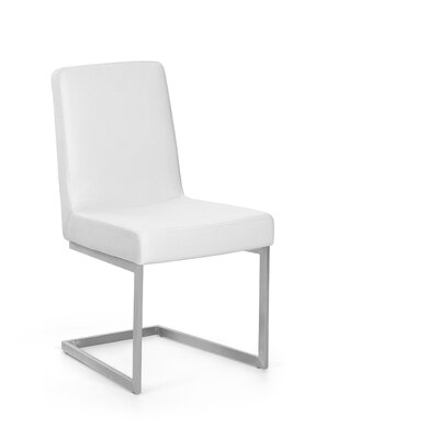 Artman Side Chair (Set of 2) Color: White