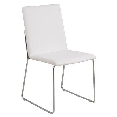 Strasburg Side Chair Upholstery: White