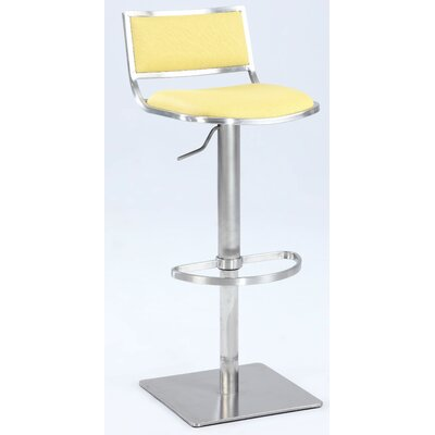 Burkey Adjustable Height Bar Stool