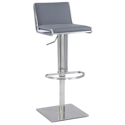 Roger Adjustable Height Bar Stool