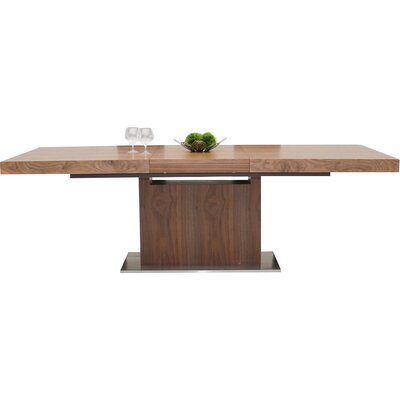 Belafonte Extendable Dining Table Finish: Walnut