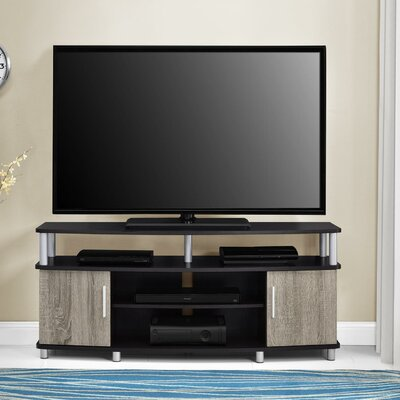 Elian TV Stand Color: Espresso / Sonoma Oak, Size: 47.25 W