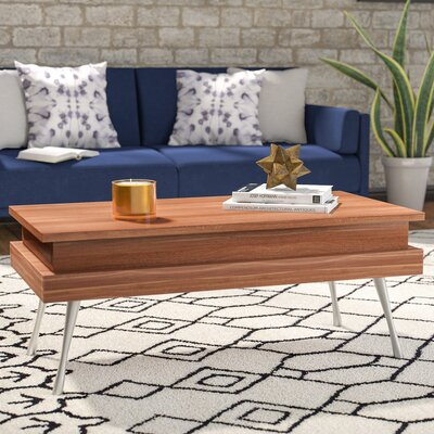 Cornelia Lift Top Coffee Table Color: Walnut