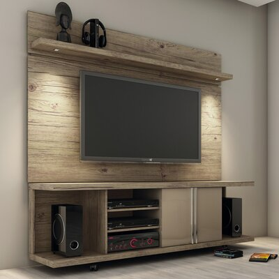 Lucca Entertainment Center Color: Nature/Nude